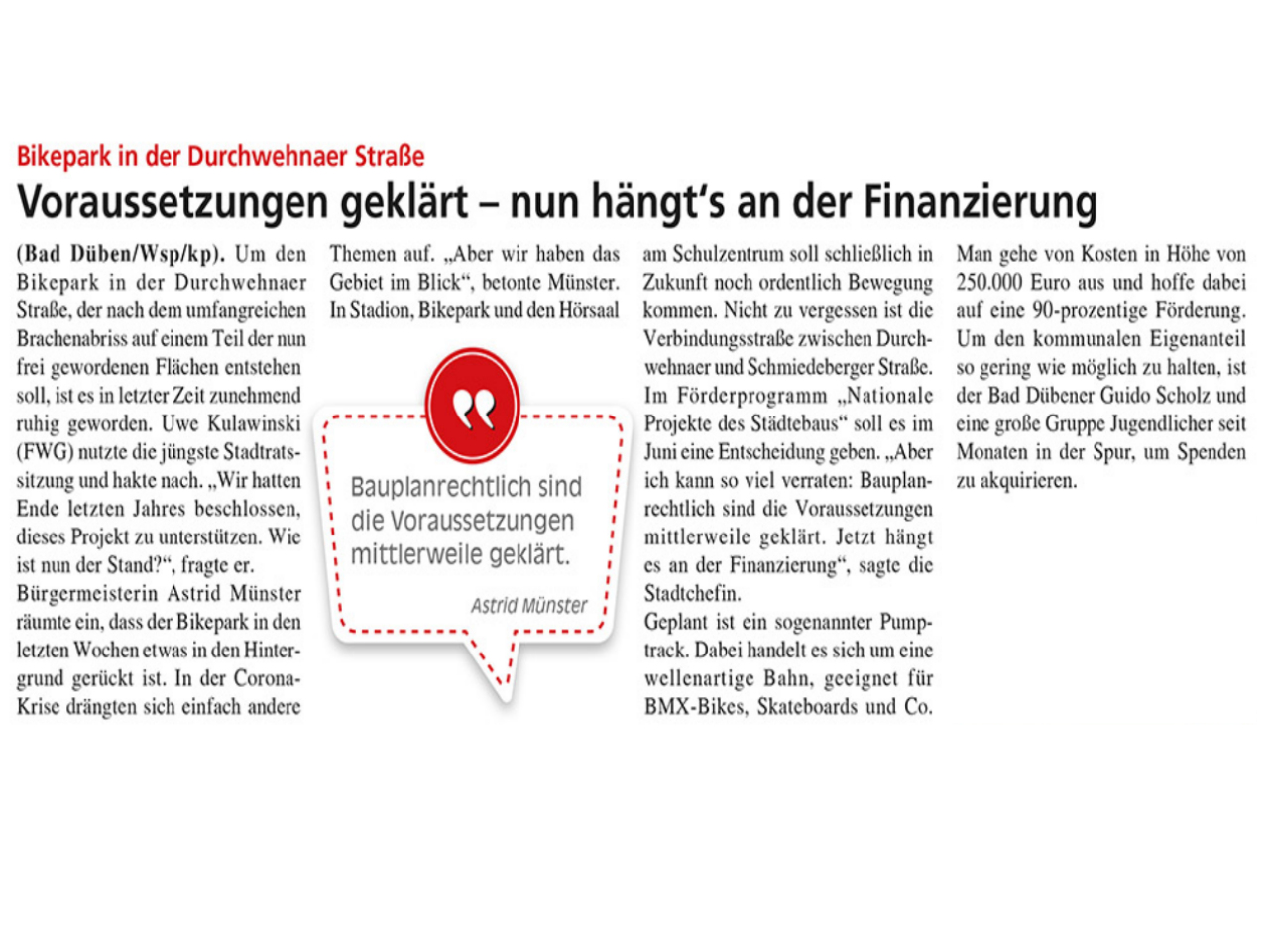 Dübener Wochenspiegel vom 03.06.2020