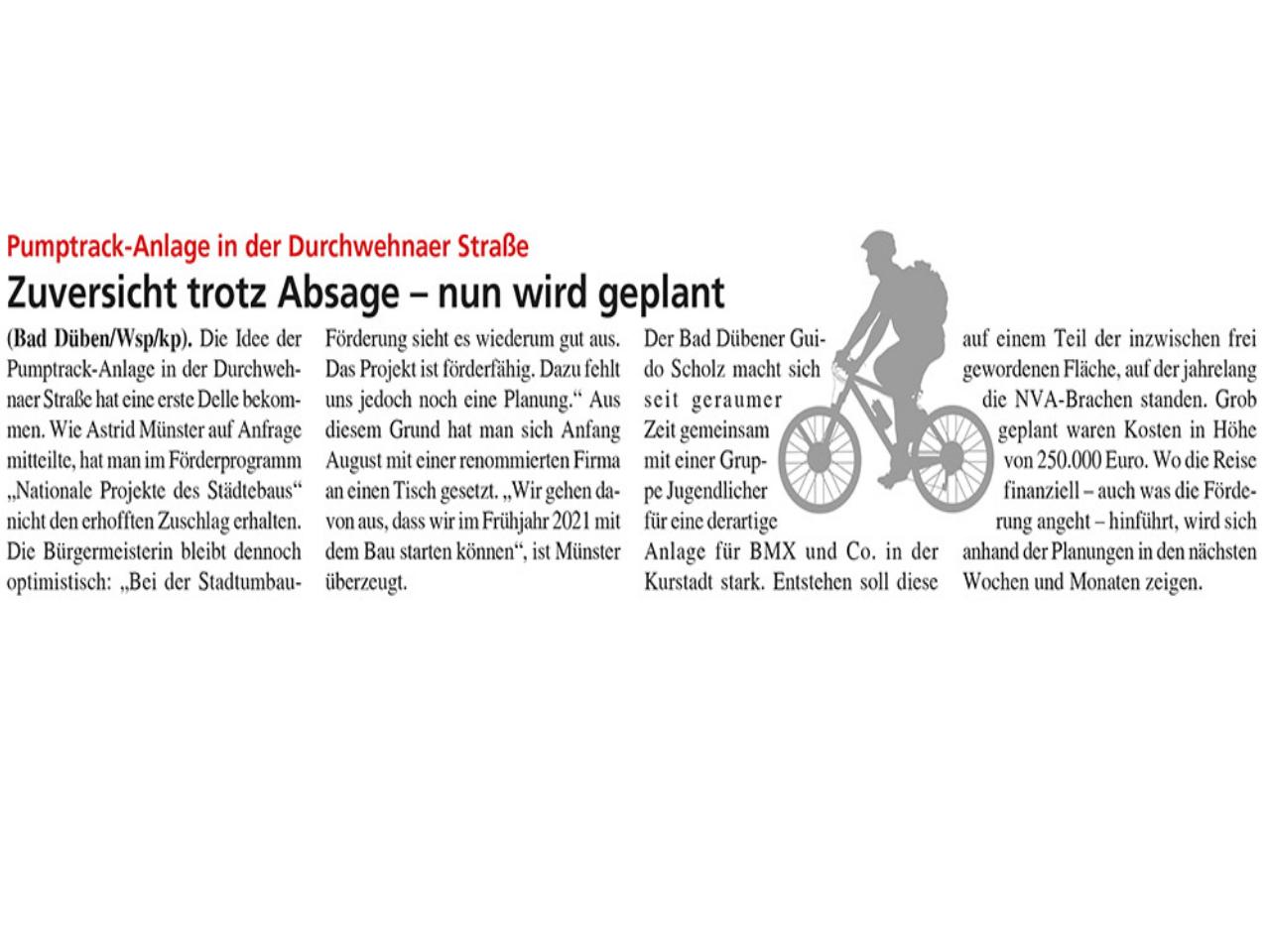 Dübener Wochenspiegel vom 12.08.2020