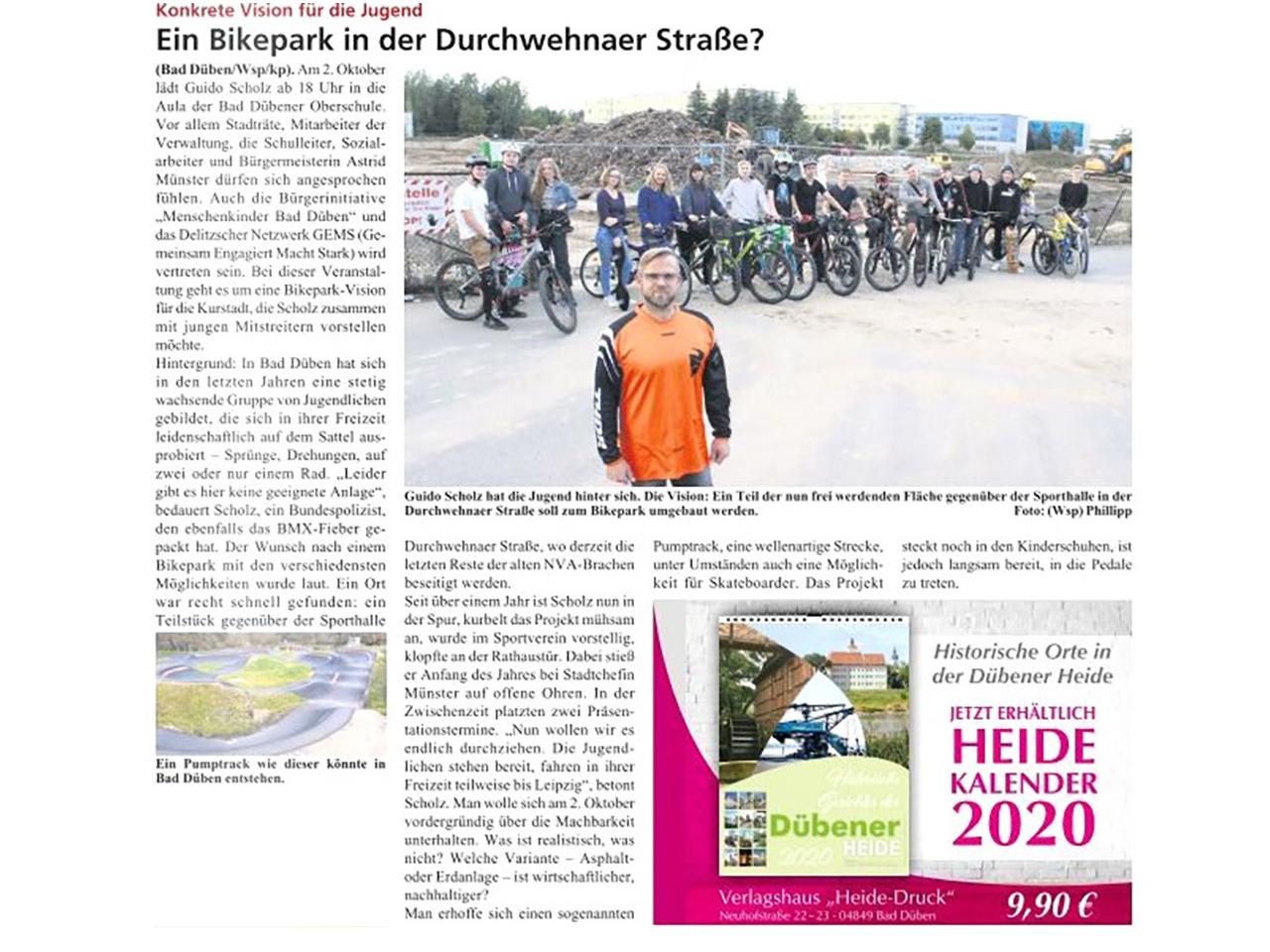 Dübener Wochenspiegel vom 18.09.2019