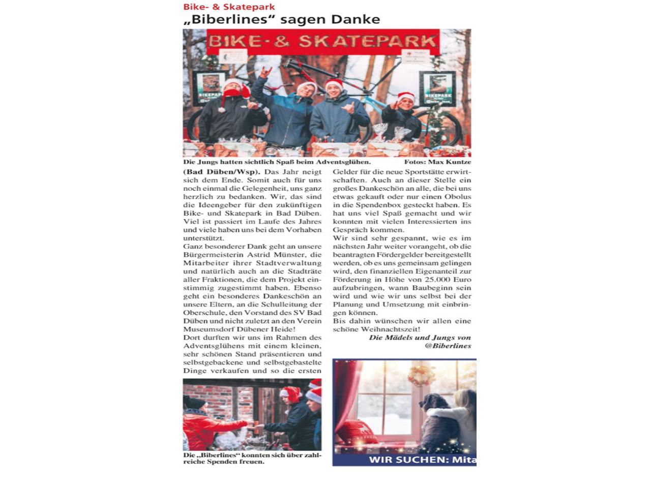 Dübener Wochenspiegel vom 18.12.2019