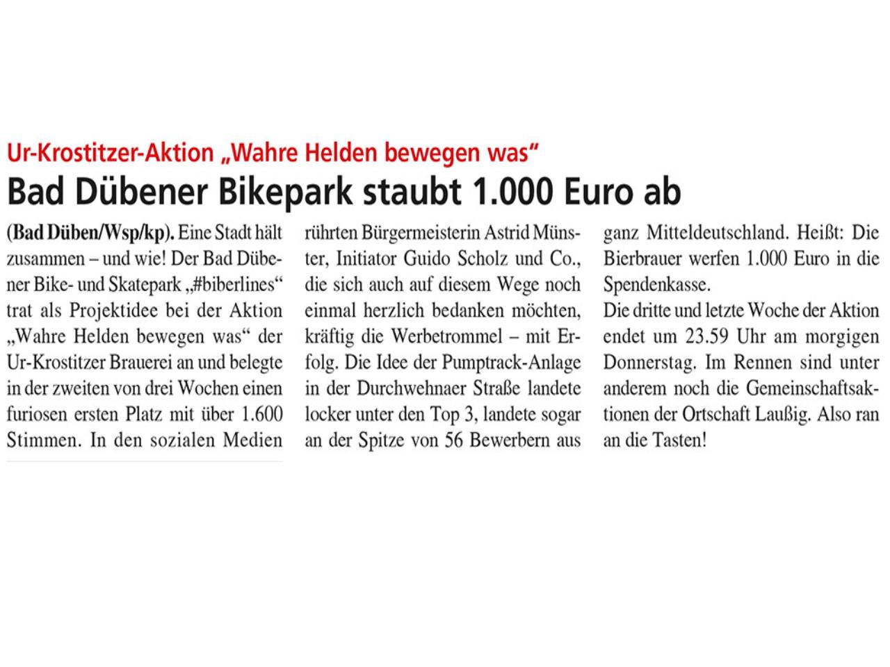 Dübener Wochenspiegel vom 23.09.2020