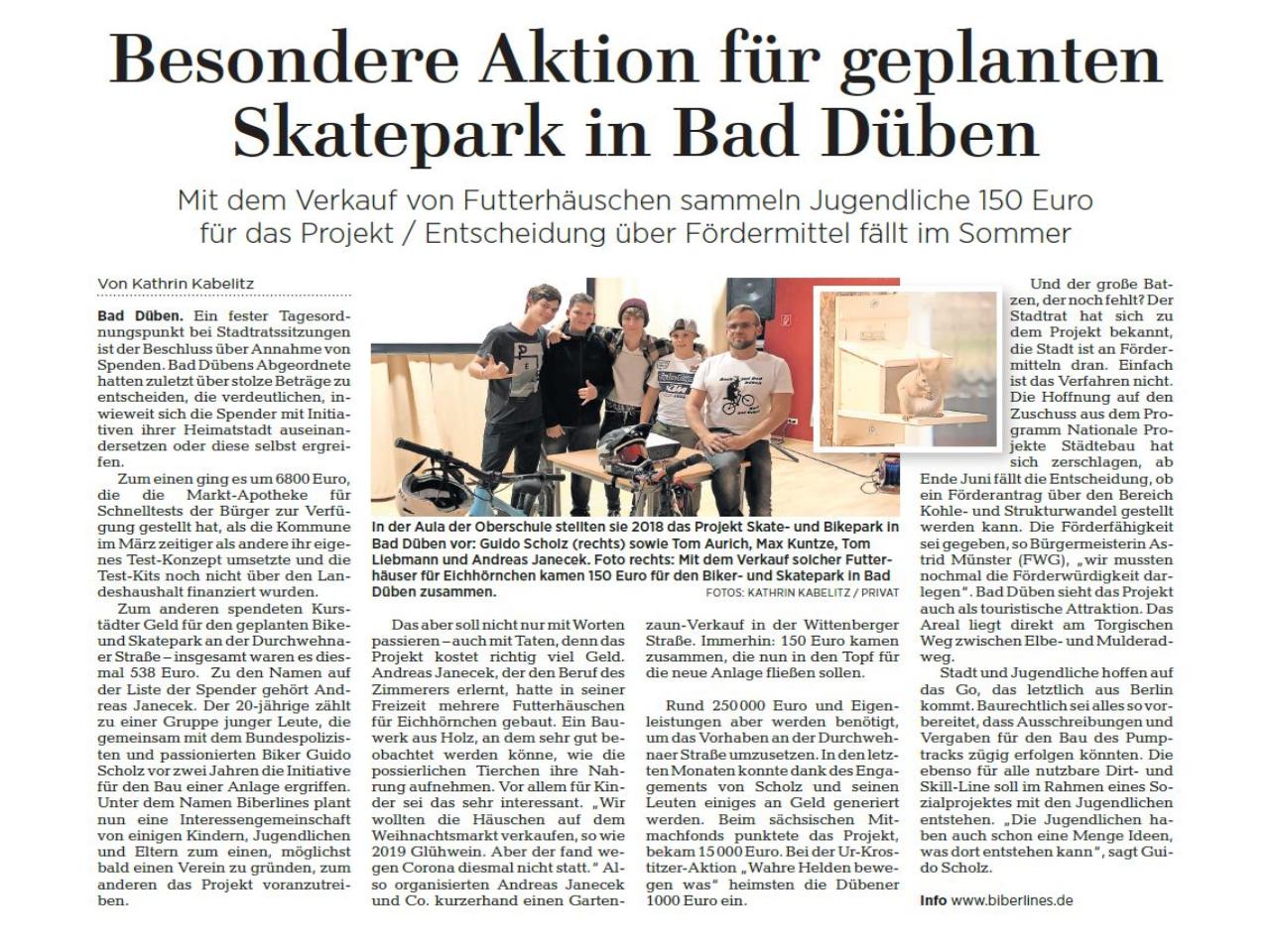 Leipziger Volkszeitung vom 31.05.2021