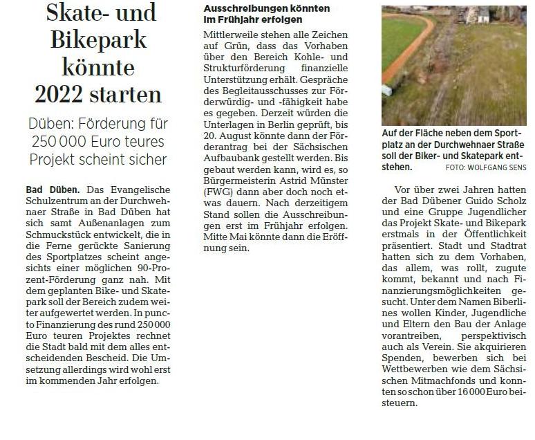 Leipziger Volkszeitung vom 10.08.2021