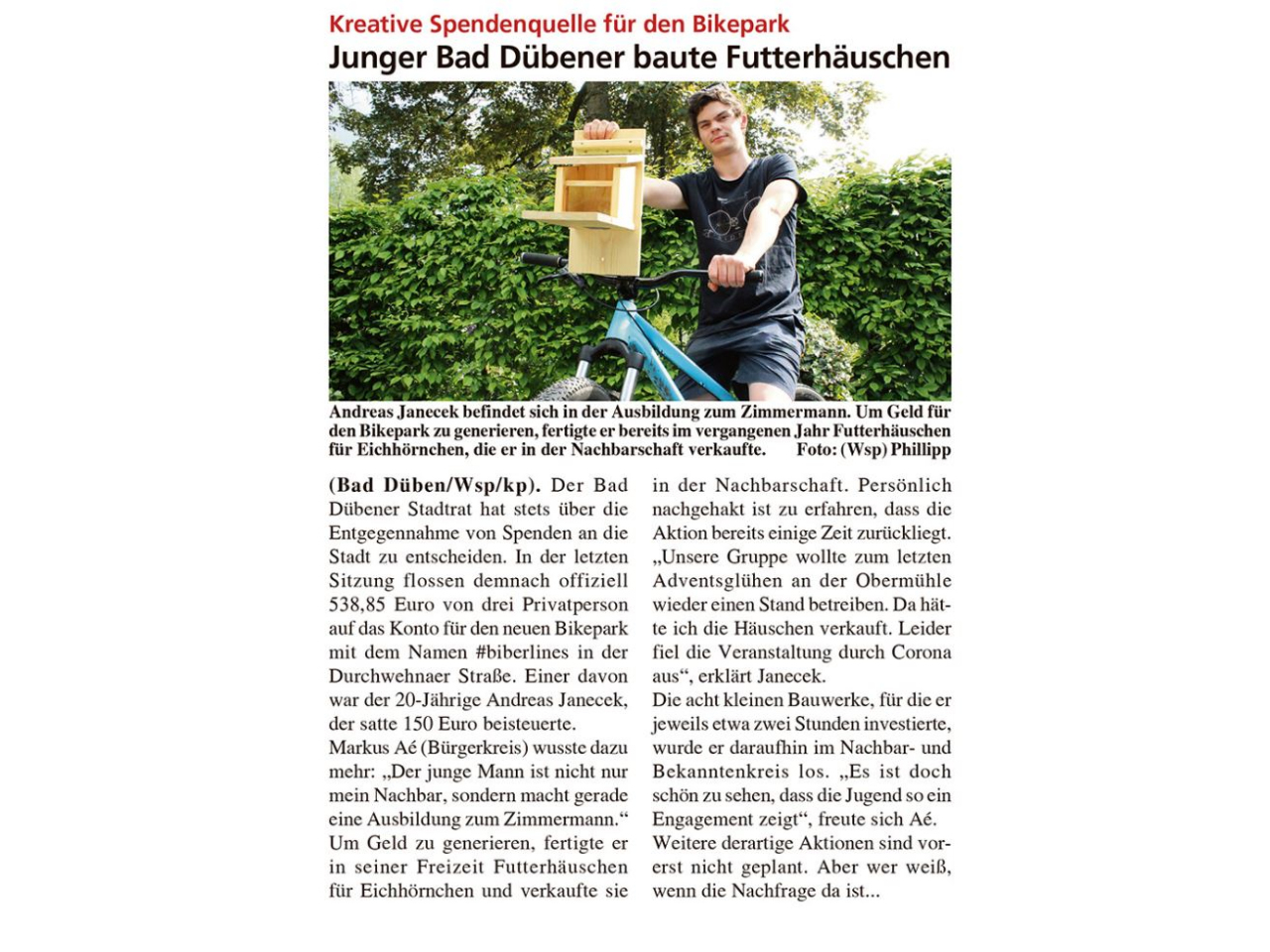 Dübener Wochenspiegel vom 09.06.2021