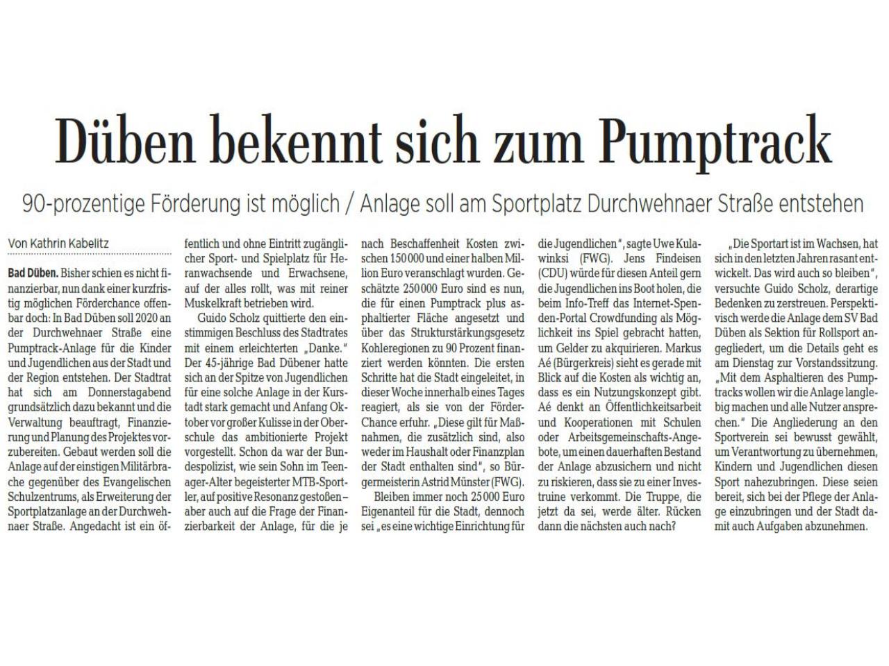 Leipziger Volkszeitung vom 16.11.2019
