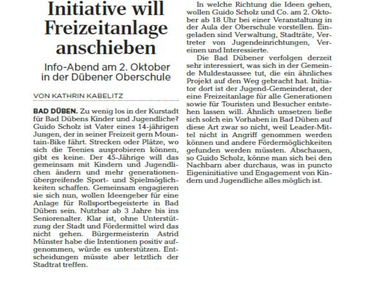 Leipziger Volkszeitung vom 13.09.2019