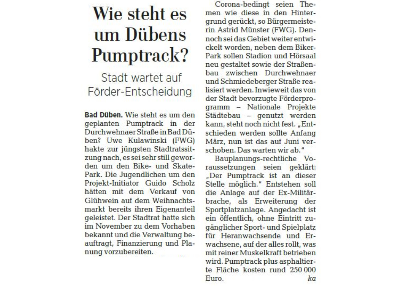 Leipziger Volkszeitung vom 20.05.2020